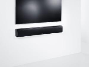 Lange Soundbar im Wohnzimmer