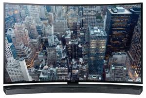 Samsung HW-J6000 Soundbar unter Fernseher