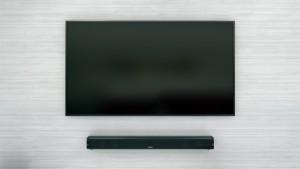 Onkyo LS-B50 unter Fernseher